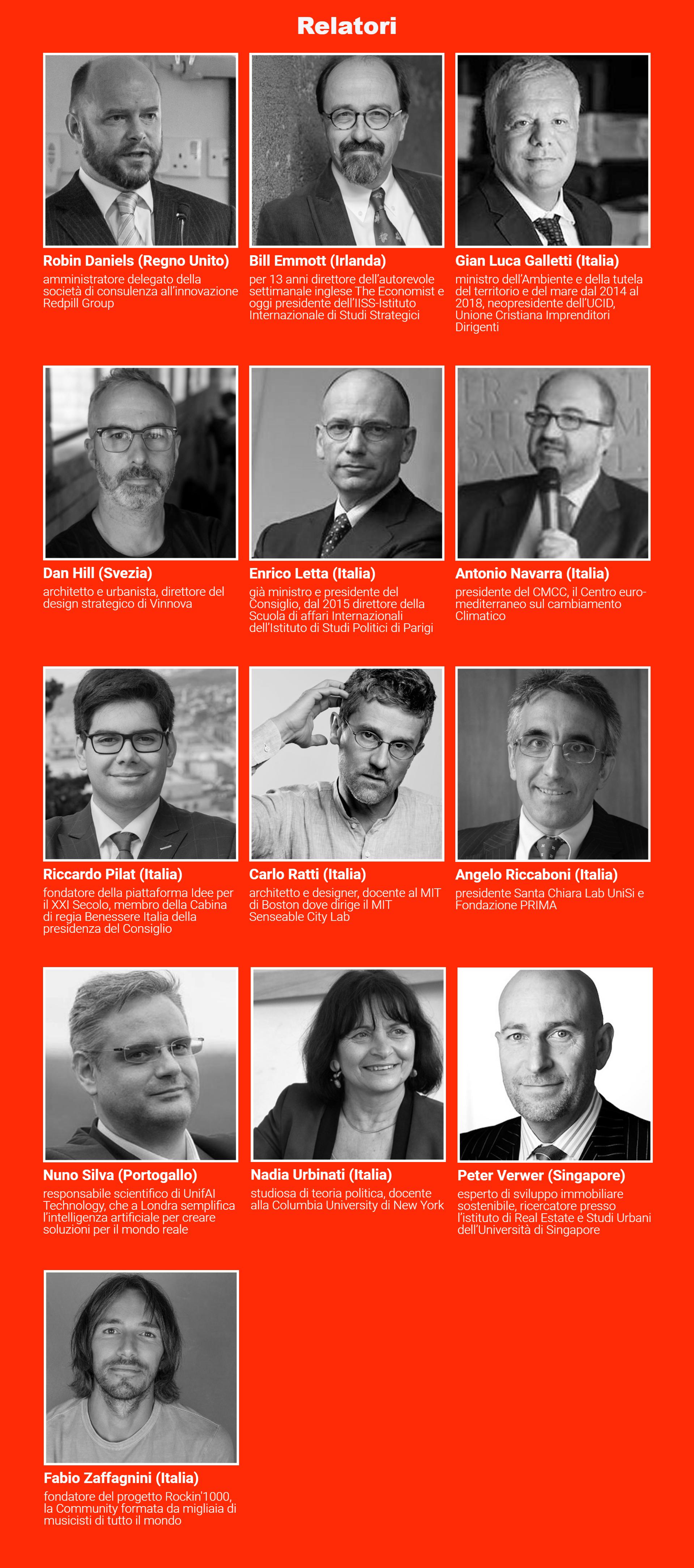 TEDxGrosseto speaker